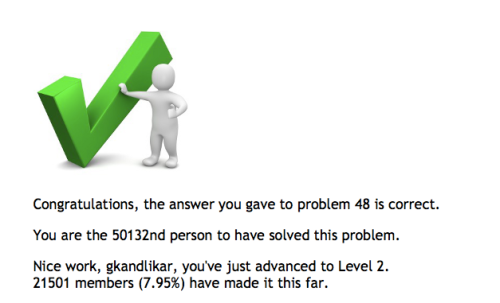 Done with 50 project euler problems!
